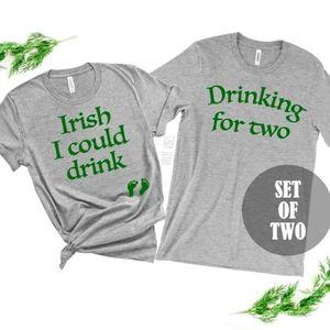 St Patricks Day Shirt Set